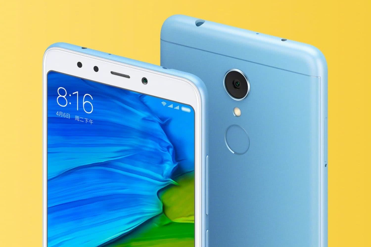 Xiaomi Redmi Note 5 2 1
