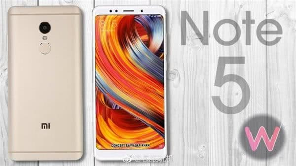 Xiaomi Redmi Note 5 2 2f