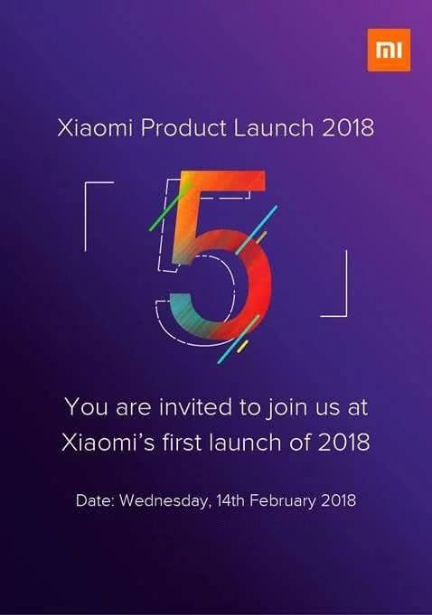 Xiaomi Redmi Note 5 Event