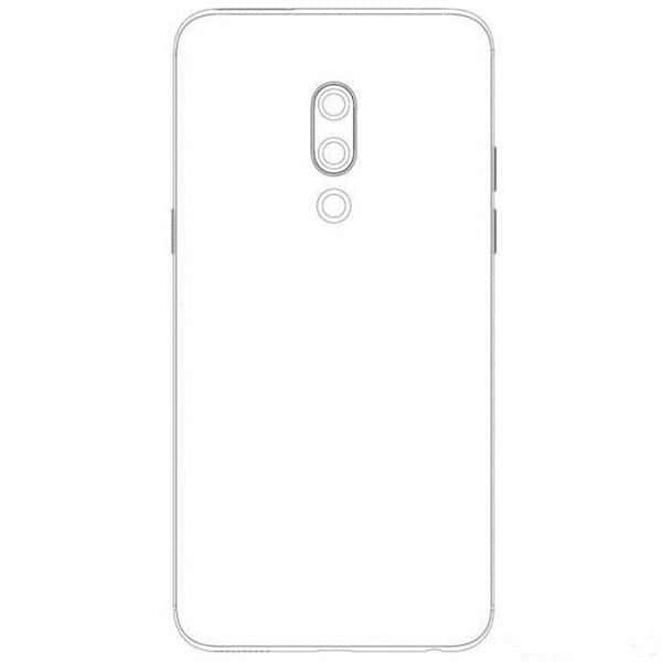 meizu 15 plus back render
