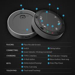 Bluetooth Car Kit Tsumbay Ai01 TouchAi
