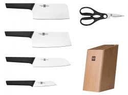 Набор кухонных ножей Xiaomi Huohou Youth Edition 6 in 1 Stainless Steel Knife Set (HU0057)