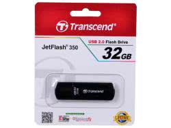 USB 2.0 Flash 32GB Transcend JetFlash 350 (TS32GJF350)